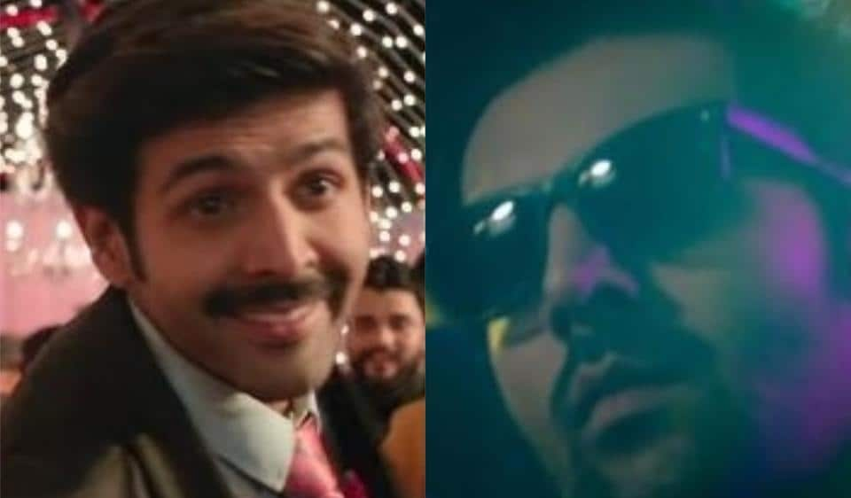 Pati Patni Aur Woh song Dheeme Dheeme teaser: Kartik Aaryan switches roles as he parties with wife Bhumi Pednekar and Ananya Panday in the video.