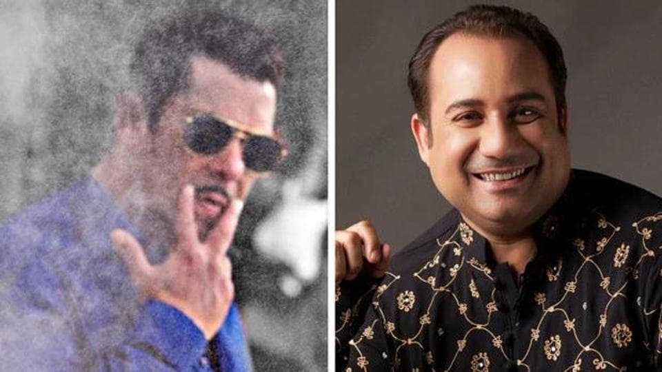 Rahat Fateh Ali Khan has crooned several hit numbers for Salman Khan.
