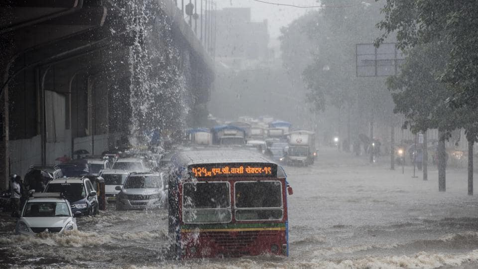 Mumbai witnessed record-breaking rains this year due to the unusual cyclonic conditions in the Arabian Sea.
