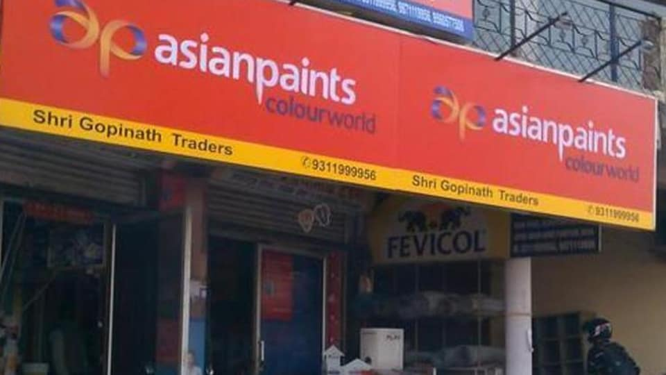 Asian Paints Ltd.'s price-to-earnings ratio of 80.1 makes it the highest valued on the S&P BSE Sensex Index.