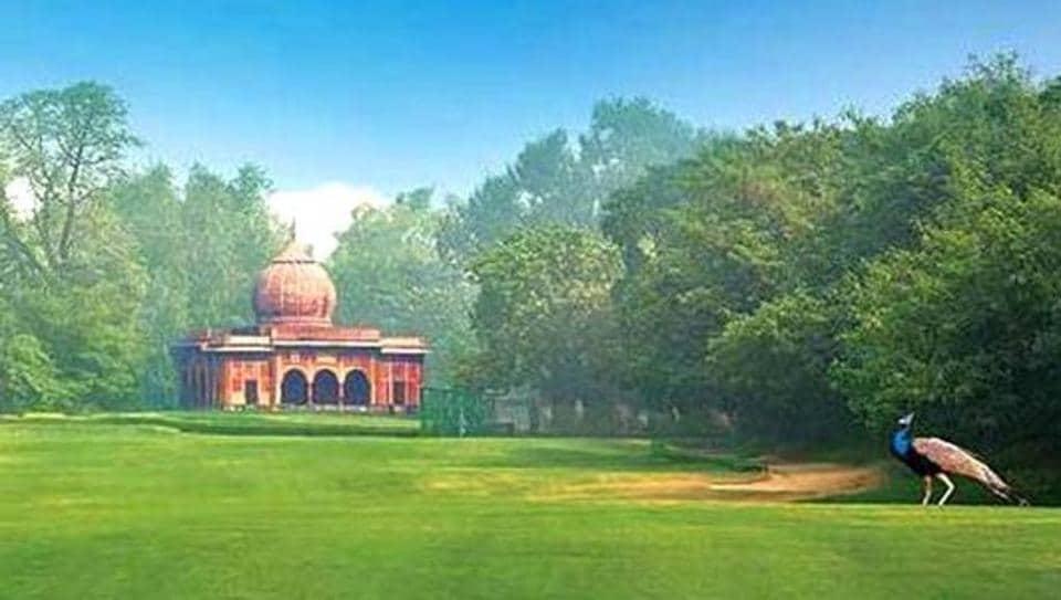 A view of the prestigious Delhi Golf Club, which was eastablised in 1930.