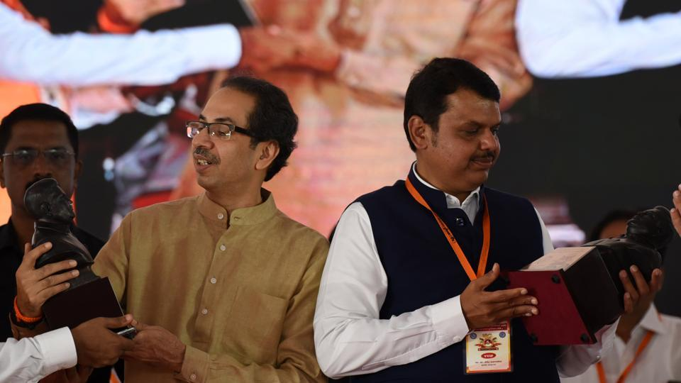 Maharashtra CM Devendra Fadnavis and Shiv Sena chief Uddhav Thackeray are at the core of the bitter power tussle.