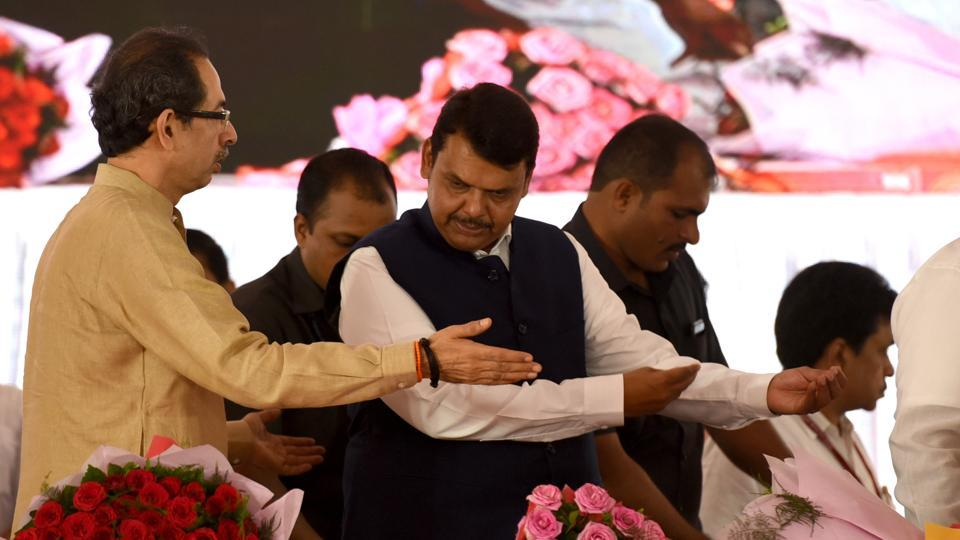 The BJP's surprise announcement capped hectic political activity during the day, which saw the party's core committee meet twice in Mumbai to ascertain its stand.