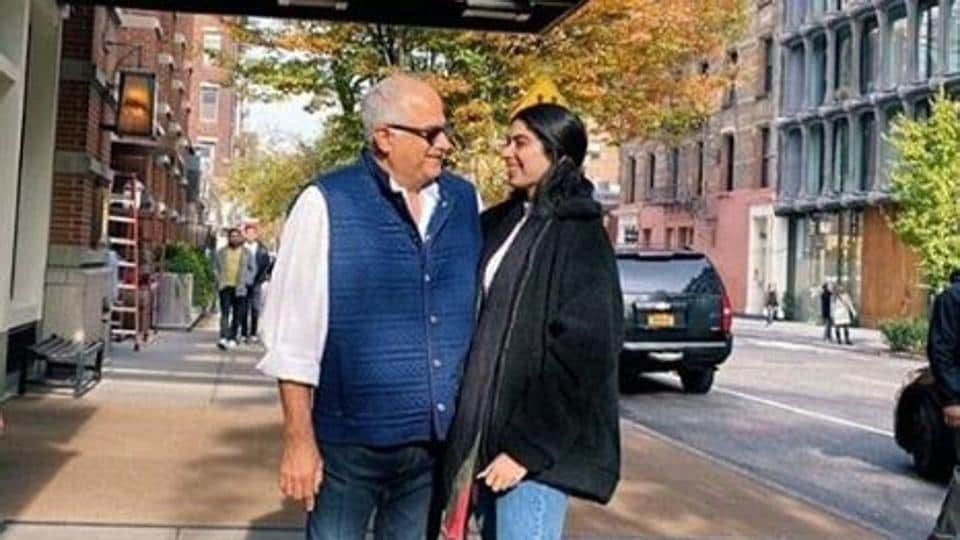 Janhvi Kapoor had said that her dad would cry just thinking about Khushi leaving for New York.
