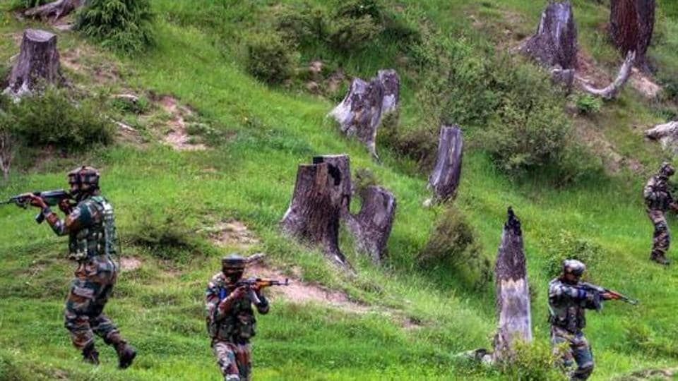 A Lashkar-e-Taiba terrorist was among the two killed by security forces during an overnight encounter in north Kashmir's Bandipora district, officials said on Monday.