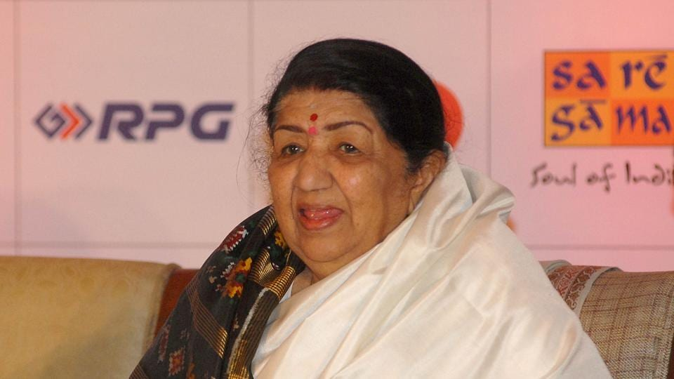 Veteran singer Lata Mangeshkar was admitted to Breach Candy Hospital on Monday, after she complained of chest pain.