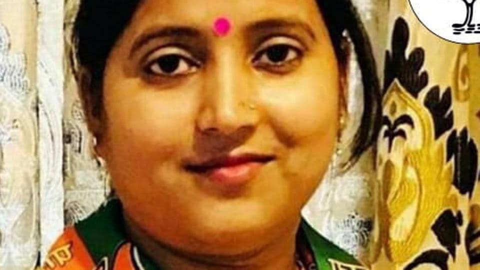 Ragini Singh is the BJP  candidate for Jharia assembly constituency in the upcoming state elections in Jharkhand.