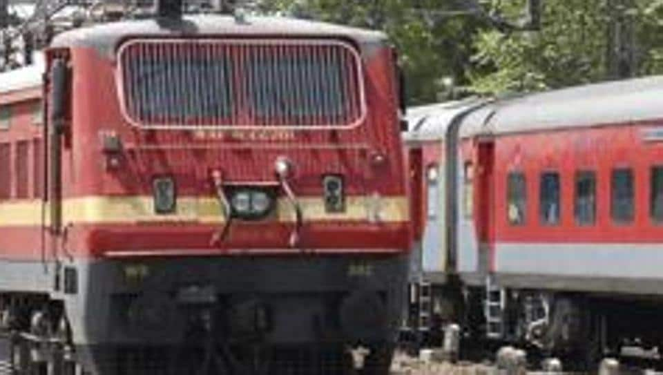 Trains were stalled for an hour in Madhya Pradesh's Jhansi rail division.