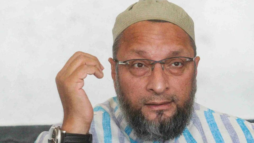 BJP leader NV Subhash on Tuesday said that AIMIM chief Asaduddin Owaisi has given an inflammatory statement against the Supreme Court's Ayodhya verdict just to serve his own agenda.