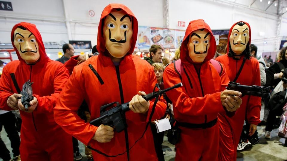 Participants wearing cosplay costumes attend the 6th Hero Festival in Marseille, France. (REUTERS)
