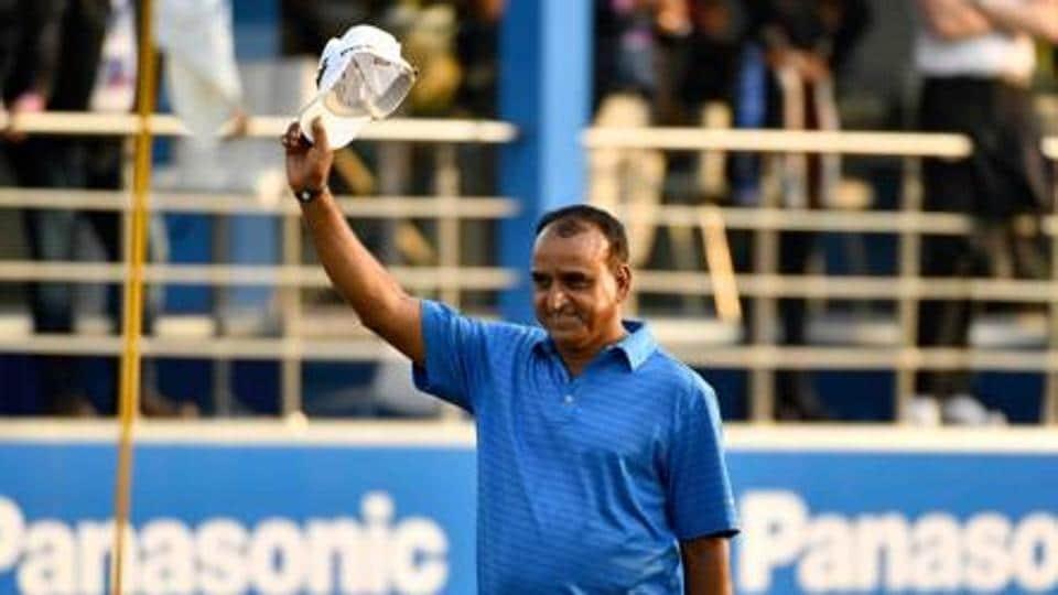 File image of Indian golfer Mukesh Kumar.