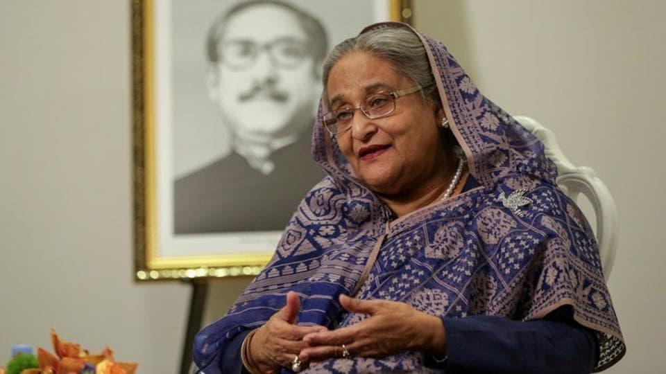 Bangladeshi Prime Minister, Sheikh Hasina.