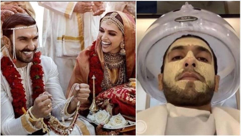 Ranveer Singh wants to glow and look gorgeous for wife Deepika Padukone on their wedding anniversary.