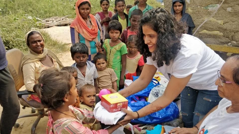 Aanchal Sharma, a cancer survivor, has been serving meals to the underprivileged for last two years.