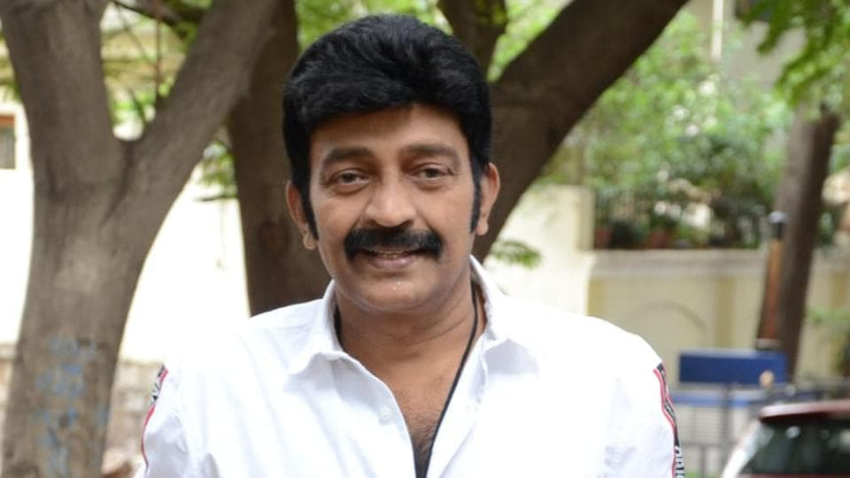 Rajasekhar suffered a car accident in Hyderabad on Tuesday.