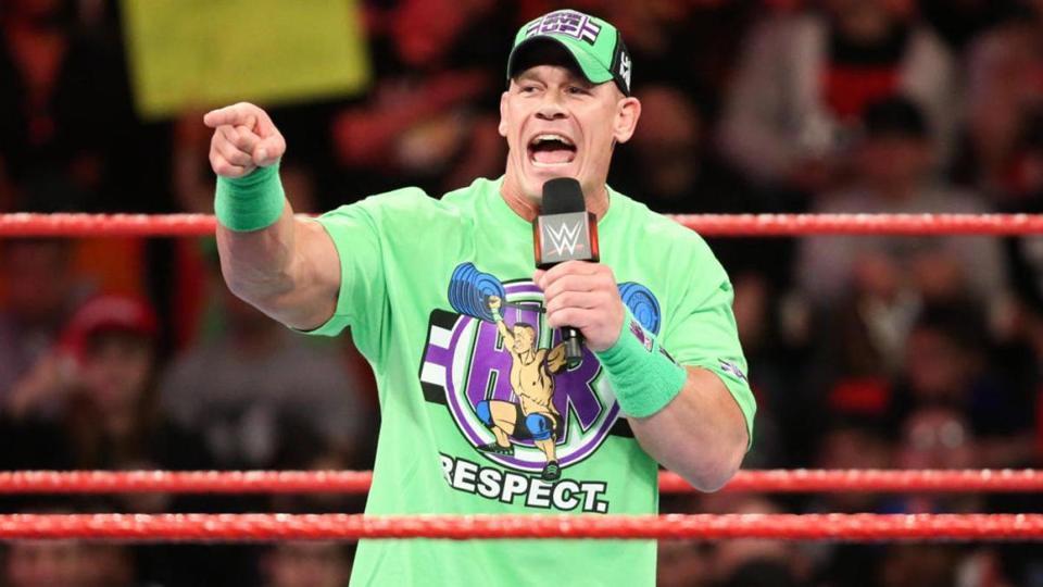 Is John Cena planning on a WWE return soon?