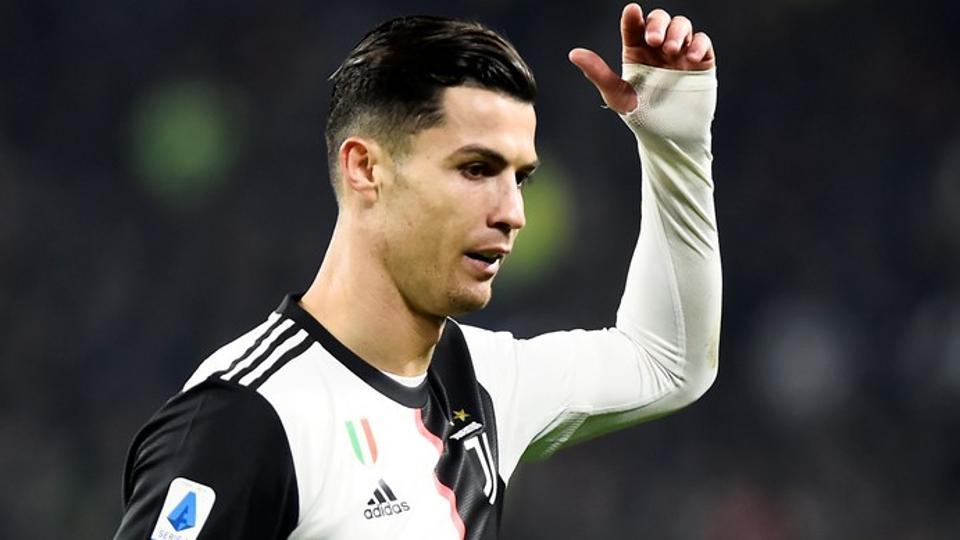 A file photo of Juventus' Cristiano Ronaldo.