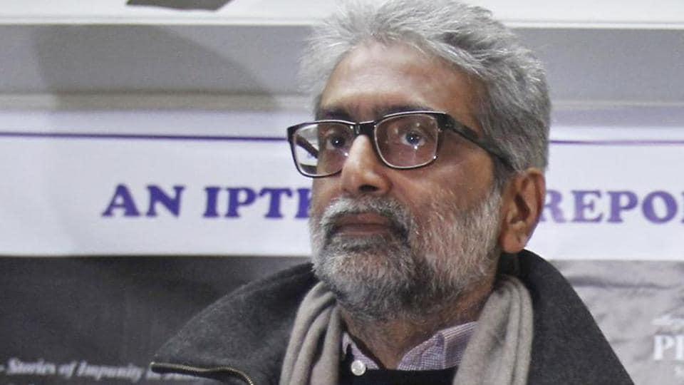 Indian human rights activist Gautam Navlakha