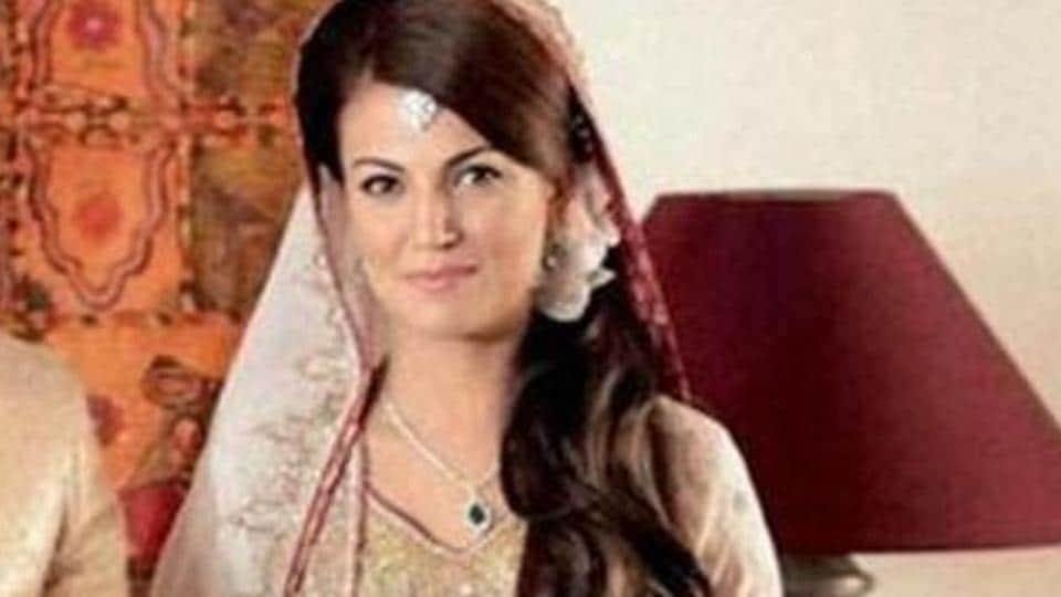 Reham Khan, the former wife of Pakistan prime minister Imran Khan.