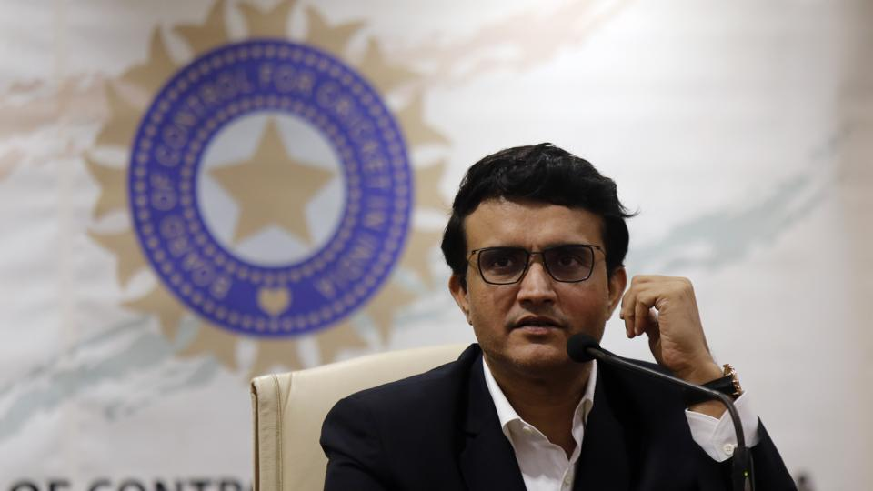 Newly-elected President of the Board of Control for Cricket in India (BCCI) Sourav Ganguly