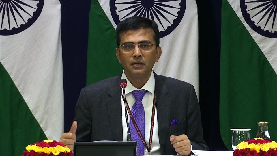 """""""We strongly condemn those responsible for deliberately spreading such fake and malicious news..."""" External affairs ministry spokesperson Raveesh Kumar tweeted."""