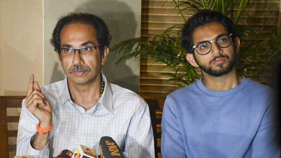 Sena chief Uddhav Thackeray spoke in favour of joining hands with his erstwhile rivals, the NCP and Congress.