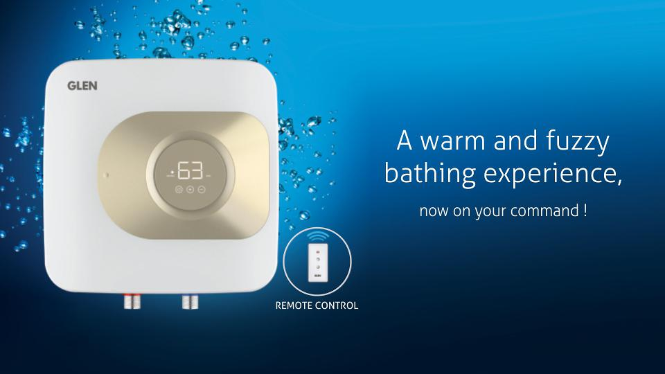 Glen waters heaters are designed to add a grace quotient to your bathroom  letting you enjoy a relaxing bath.
