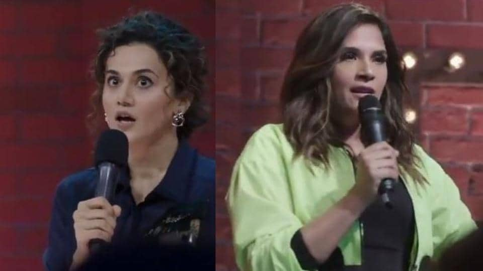 Taapsee Pannu, Richa Chadha will be seen performing stand-up comedy on upcoming web show, One Mic Stand.