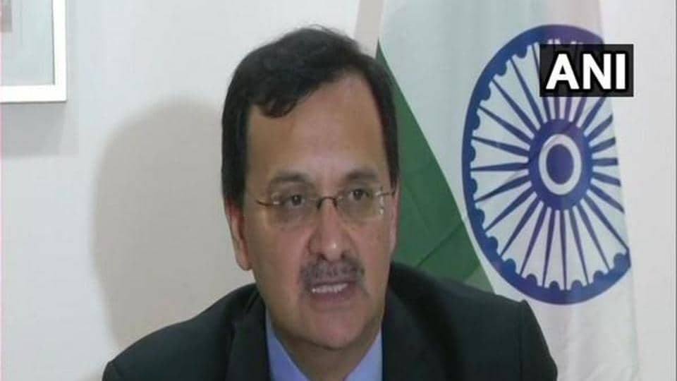Dinesh Patnaik, Additional Secretary, Ministry of External Affairs.