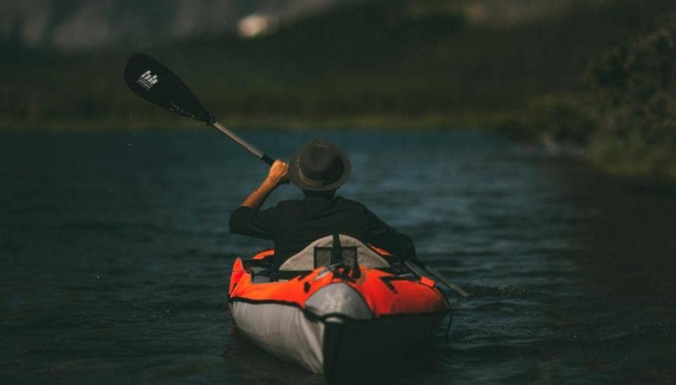 John Konecny decided take a trip on a battered fibreglass canoe (representational image).