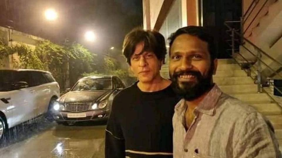Vatrimaaran met ShahRukh Khan in Mumbai couple of weeks back.
