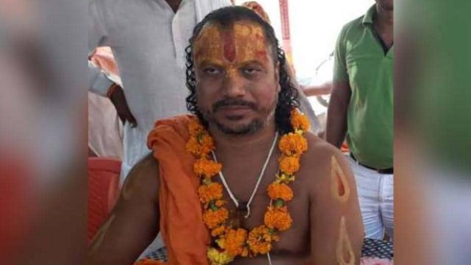 Paramhansdas was also arrested last year when he threatened to immolate himself if the temple was not built at the earliest.