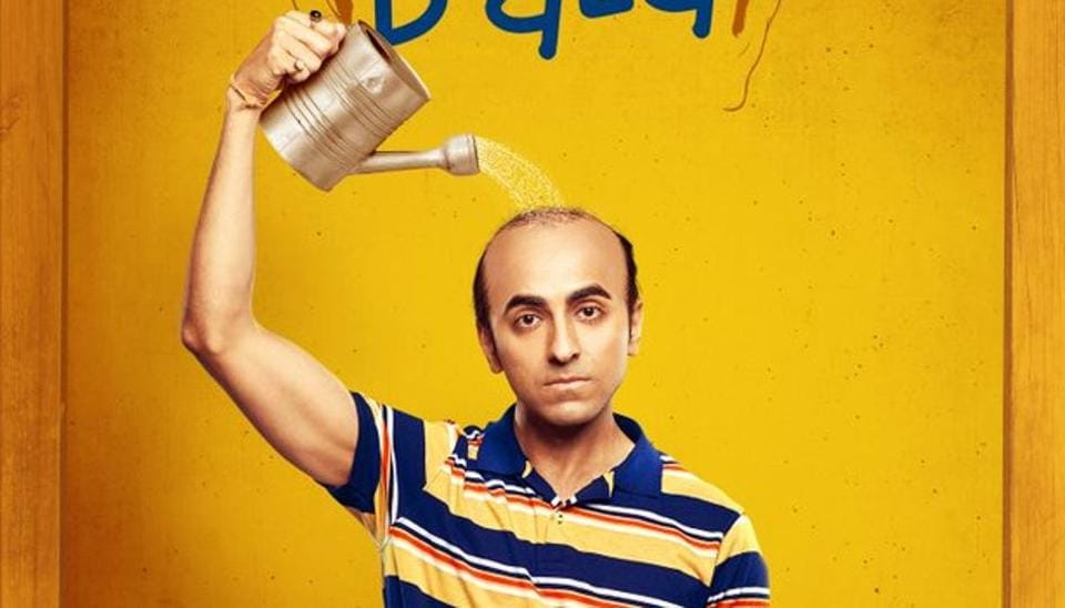 Ayushmann Khurrana plays a bald man in Bala.