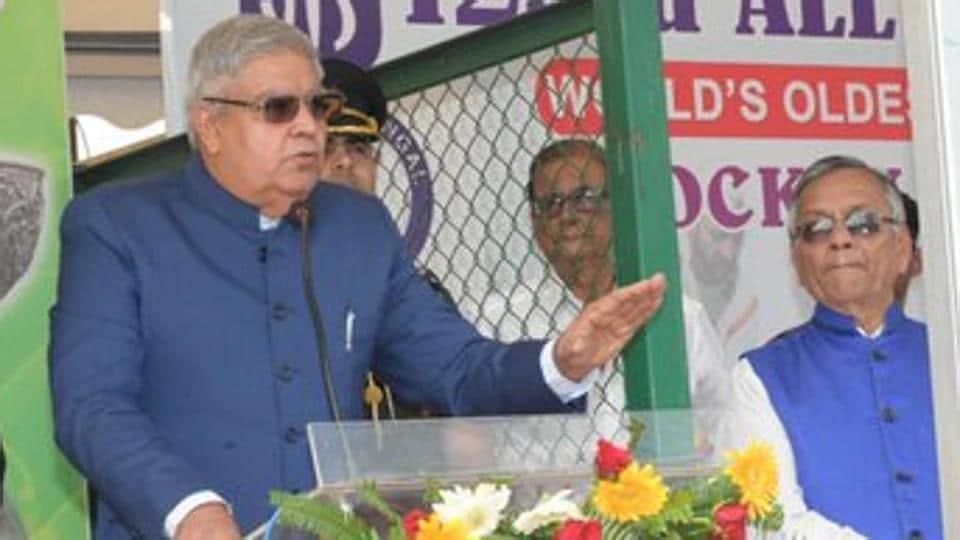File photo of Bengal Governor Jagdeep Dhankhar.