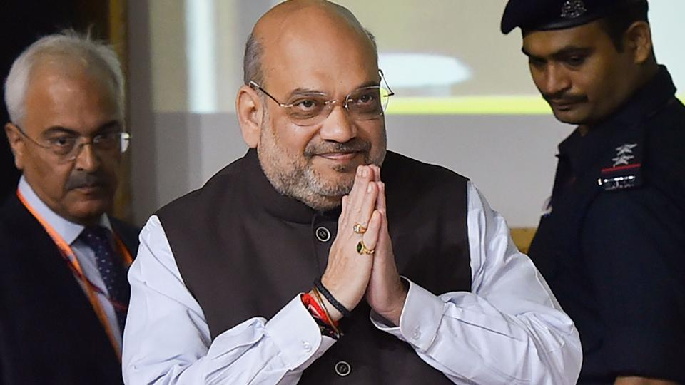 A file photo of Union Home Minister Amit Shah.