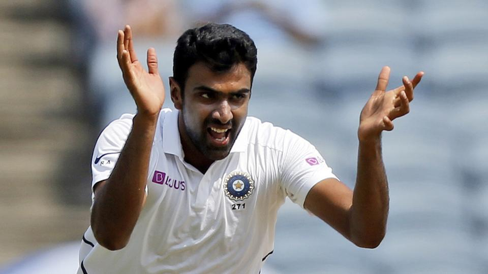 Indian cricketer Ravichandran Ashwin.