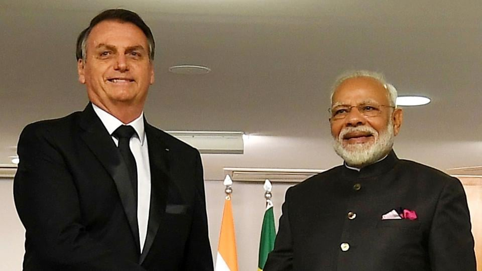 Bolsonaro expressed his readiness to cooperate in these areas and told Modi that a large business delegation will accompany him to India.