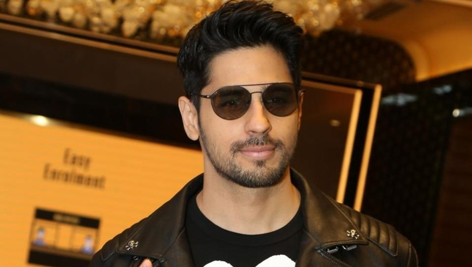 Sidharth Malhotra during the promotions of their upcoming film Marjaavaan in New Delhi.