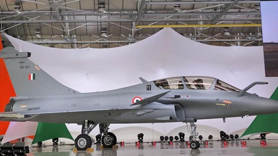 A view of Rafale Jet at its Dassault Aviation assembly line, in Bordeaux, France.