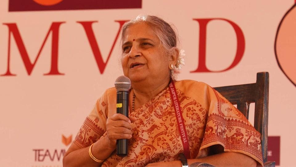 Sudha Murty to deliver 2019 Penguin Annual Lecture.