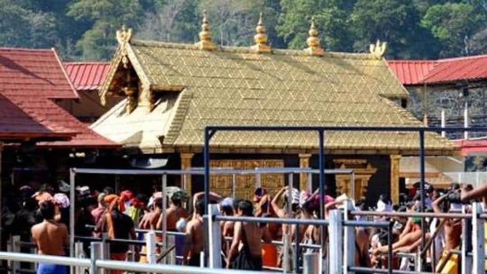 A five-judge Supreme Court bench on Thursday decided to refer its ruling on the entry of women to Sabarimala to a larger bench.