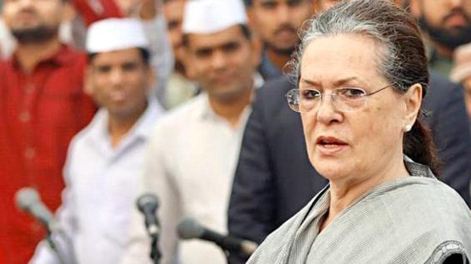 Congress Interim President Sonia Gandhi was speaking on the 130th birth anniversary of India's first Prime Minister Jawaharlal Nehru.