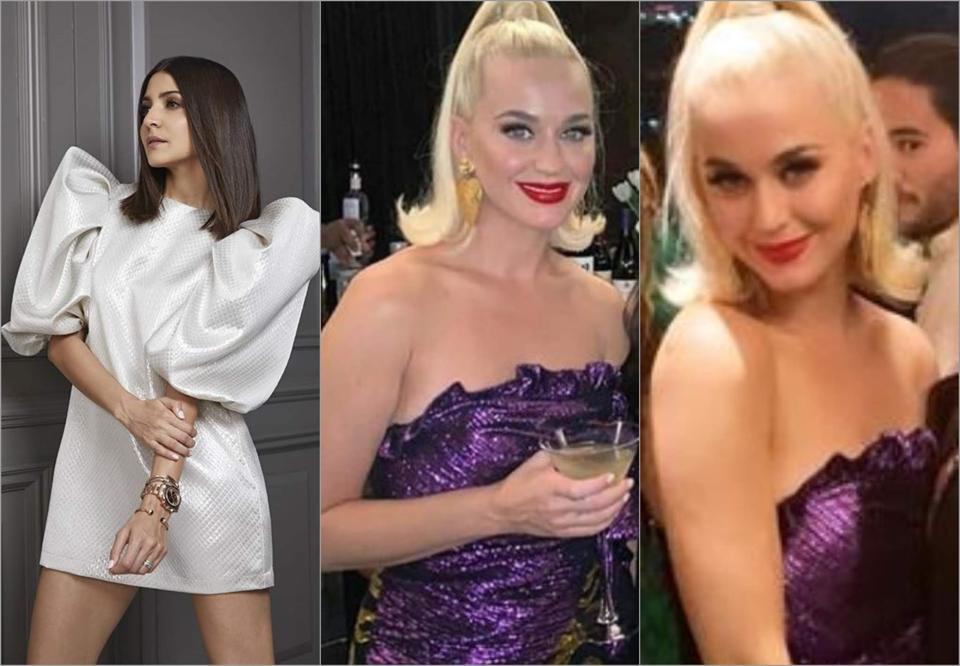 Karan Johar's threw a party for pop singer Katy Perry last night.