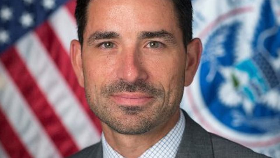 Acting head of the department of homeland security, Chad Wolf.