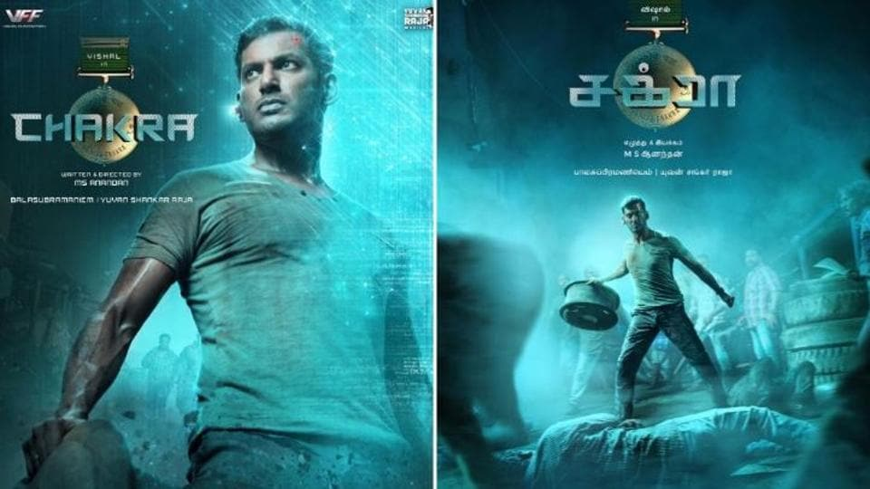 First-look posters of Chakra was unveiled on Friday.
