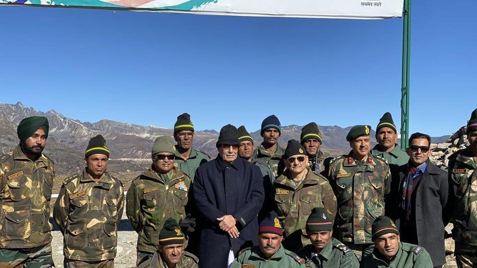 Defence minister Rajnath Singh visited the Indian Army's forward post at Bumla in Arunachal Pradesh on Friday