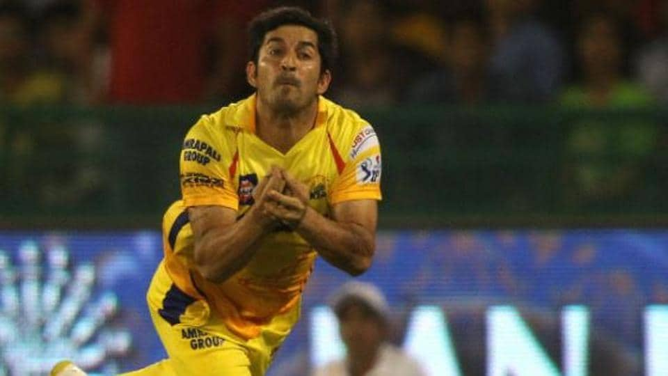 File image of CSK cricketer Mohit Sharma