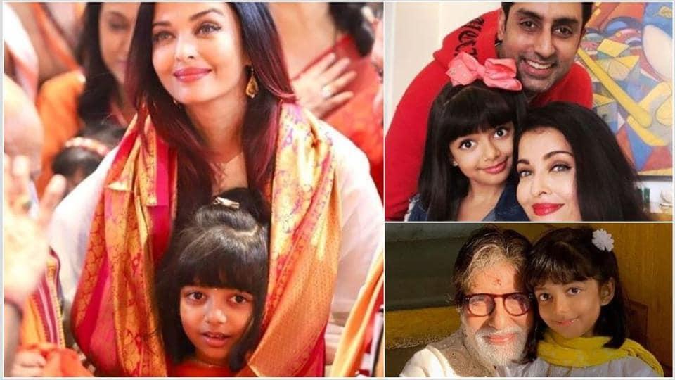 Happy birthday Aaradhya: Aishwarya Rai and Abhishek Bachchan's daughter turns eight.