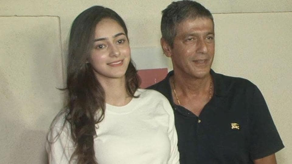 Ananya Panday talks about her dad Chunky Pandey's reaction when he saw her shoot for the Dheeme Dheeme song.