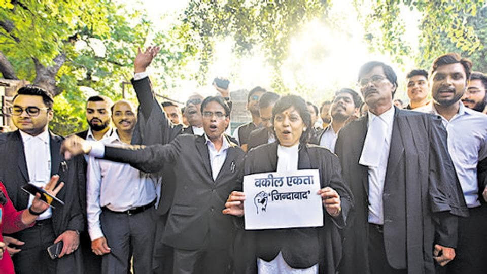 Delhi lawyers suspend 12-day strike following clash with police at Tiz Hazari, to resume work today.